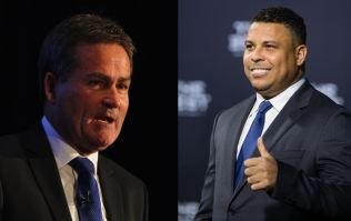 Richard Keys is getting a lot of stick for his insensitive Ronaldo tweet