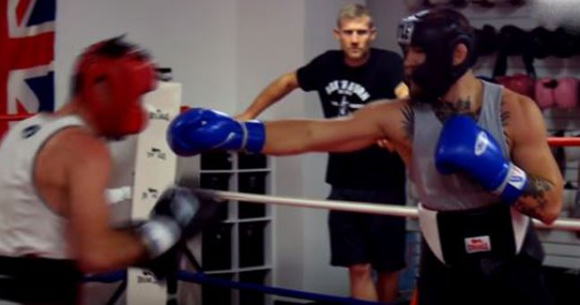 Former Conor McGregor sparring partner cruelly leaks sparring footage after Floyd Mayweather announcement