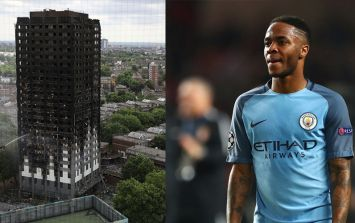 Raheem Sterling to make donation to those affected by Grenfell Tower fire