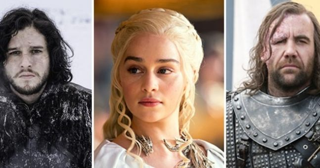 QUIZ: How many of these characters from Game of Thrones can you name?