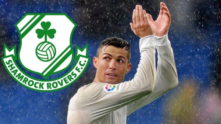 Irish club has the best reaction to Cristiano Ronaldo coming on the transfer market