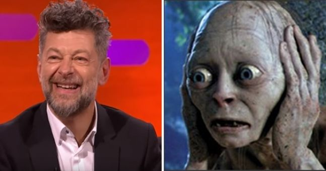 Andy Serkis brought back Gollum on the Graham Norton Show and people absolutely loved it