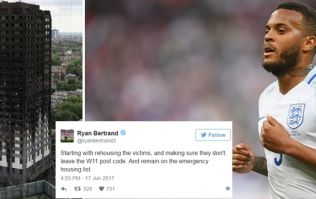 Ryan Bertrand is going above and beyond to help those affected by the Grenfell fire
