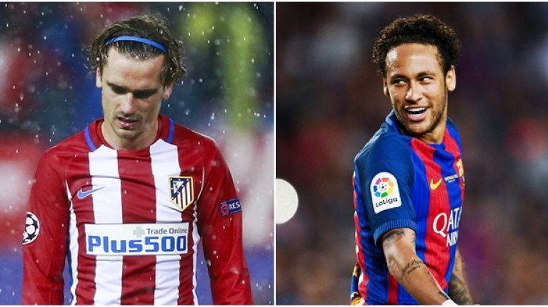 Neymar S Reaction To Antoine Griezmann S New Haircut Says It