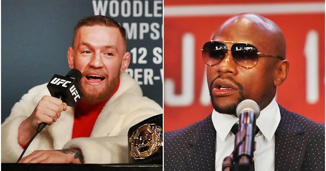 WATCH: Floyd Mayweather's first interview since McGregor fight was announced