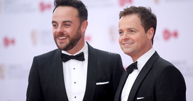 Declan Donnelly's touching show of support for Ant McPartlin
