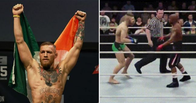 Someone has simulated McGregor v Mayweather in WWE 2K17, and it's perfect