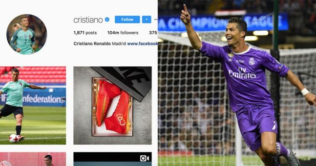 People think one detail on Cristiano Ronaldo's Instagram proves that he's definitely leaving Real Madrid