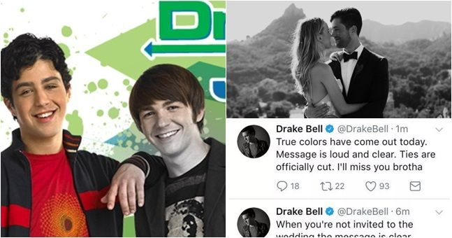 Drake wasn't invited to Josh's wedding and 90s kids are heartbroken