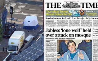 The Times is accused of 'double standards' following Tuesday's front page
