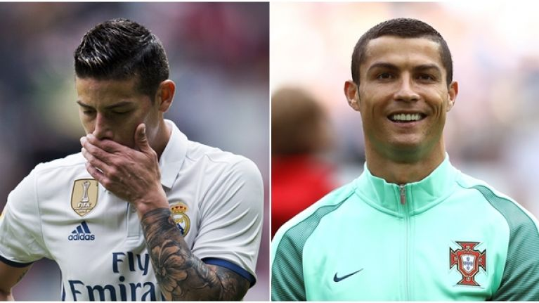 Cristiano Ronaldo Had A Ruthless Response To James Rodriguezs New