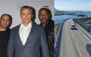 Top Gear team in trouble with police in Norway for smashing speed limit