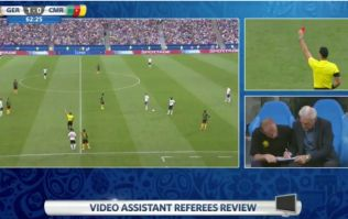 Watch: Video Referee madness as the wrong Cameroon player gets sent off against Germany at the Confederations Cup