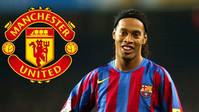 The Story Of How Manchester United Missed Out On Ronaldinho Has Become More Bizarre
