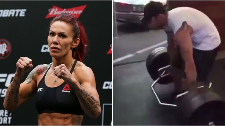 Cyborg Trolls Tony Ferguson Over Deadlift Form After Steroid Jibe
