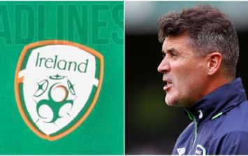 Roy Keane will definitely have something to say about Ireland's leaked new jersey