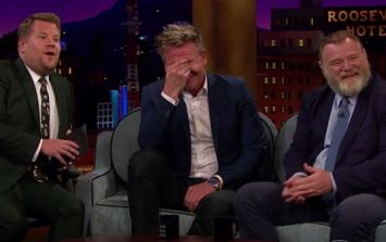 After waiting seven years, James Corden got the perfect revenge on Gordon Ramsay for this bet