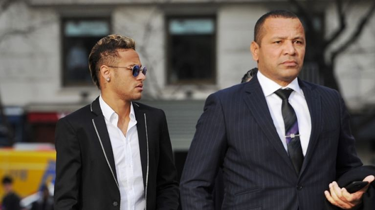 Here's how much Neymar's father will reportedly make from the PSG transfer