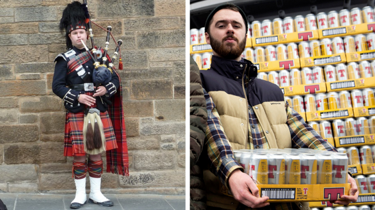 Attention Scots: If you live in England or Wales, Tennent's want to give you free beer
