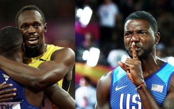 Watch: London crowd make their feelings perfectly clear as Justin Gatlin wins 100m gold