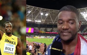 Justin Gatlin reveals Usain Bolt told him he didn't deserve boos from the crowd following 100m victory