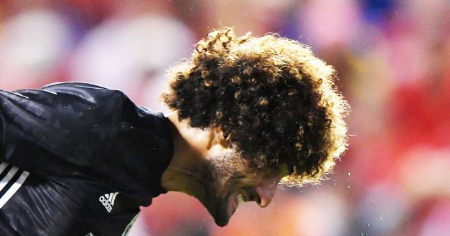 For Jose Mourinho, the Marouane Fellaini option makes perfect sense