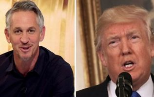 Gary Lineker has perfectly timed reply to Donald Trump's latest tweet