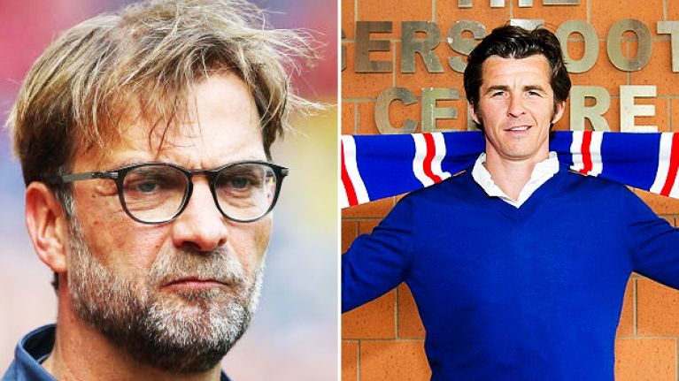 Joey Barton claims Klopp isn't a top manager, branding him a 'giant German cheerleader'