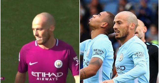 People reckon David Silva looks like a forgotten Manchester City midfielder