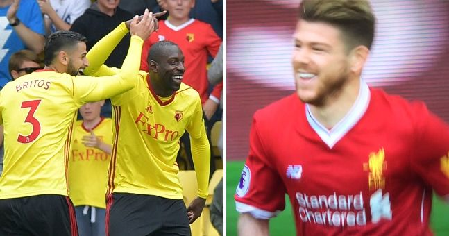Liverpool fans not happy with Alberto Moreno's reaction to conceding early goal