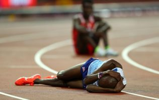 Mo Farah bows out of track athletics with 5000m silver at World Championships