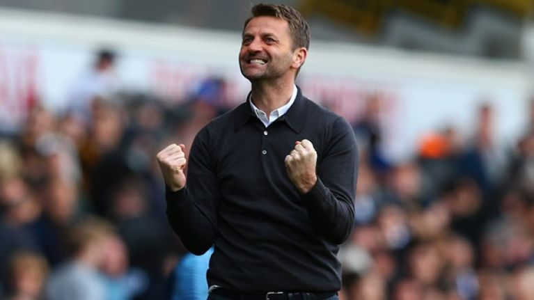 Tim Sherwood seems to have taken credit for the rise of Harry Kane