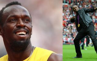 Usain Bolt could finally be getting a run out at Old Trafford for Manchester United legends XI