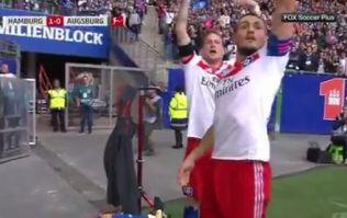 Bundesliga star ruled out for months after over-zealous celebration goes wrong