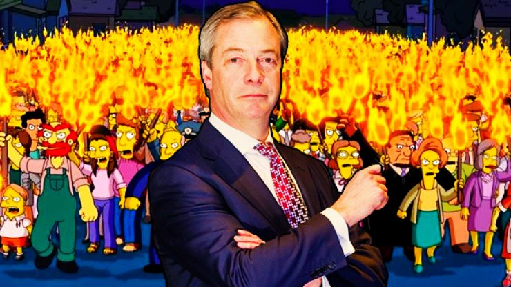 The PC Brigade strikes again as Nigel Farage event cancelled