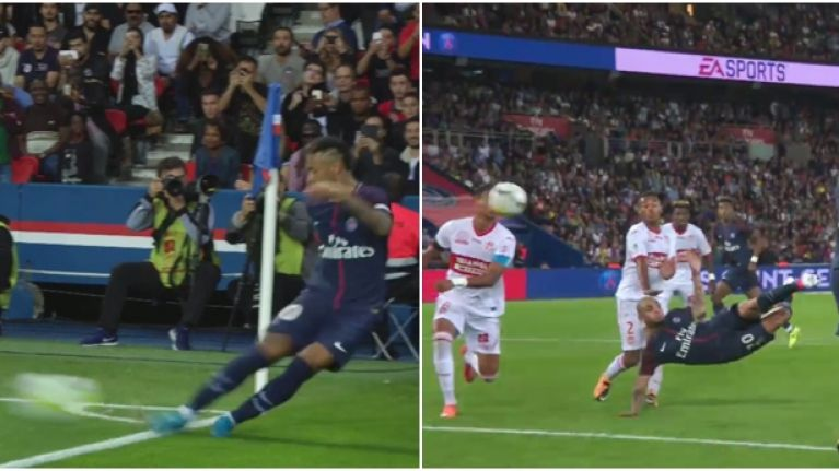 Neymar's assist from a corner was more impressive than any of his goals for PSG