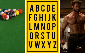 The JOE Alphabet Quiz: Week 7