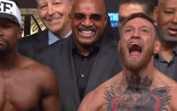 WATCH: Conor McGregor was pumped up beyond belief for final Mayweather face off