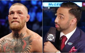 What a shame that Paulie Malignaggi had to react this way to Conor McGregor's defeat