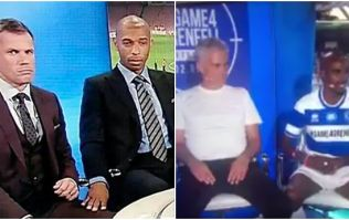 Jose Mourinho and Mo Farah have had a Carragher/Henry moment