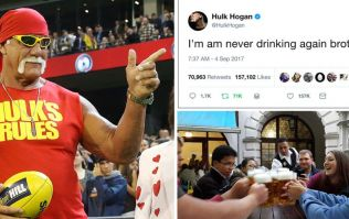 Has Hulk Hogan done the most incredible tweet of 2017?