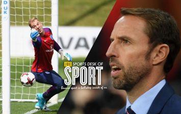 Gareth Southgate insists Joe Hart is still England's best goalkeeper named Joe Hart