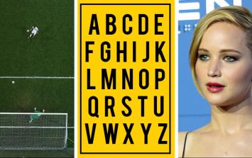 The JOE Alphabet Quiz: Week 9