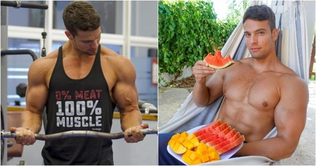 Vegan bodybuilder talks us through his daily diet plan