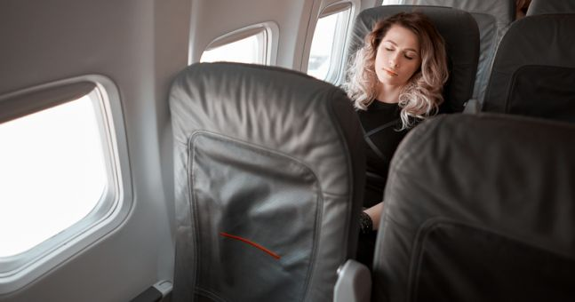 There's a good reason to avoid falling asleep before your plane takes off