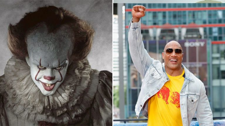 The Rock has declared It to be one of his favourite films of all time, despite that fact it has just come out