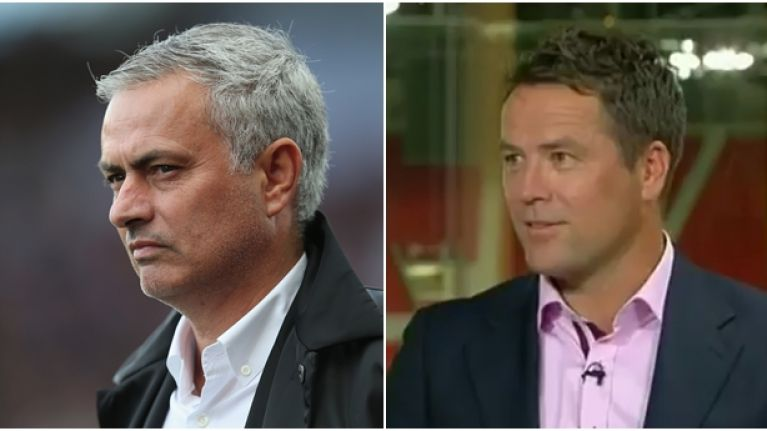 Michael Owen reckons there's a weak-link in Manchester United's defence