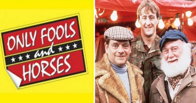 Great news because a long lost episode of Only Fools and Horses has just been found