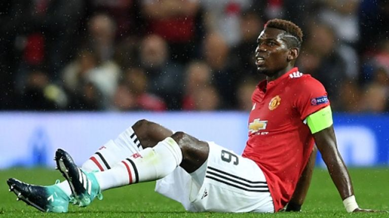 Mourinho gives an update on Paul Pogba's injury