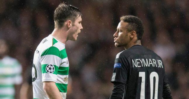 Celtic's Anthony Ralston gives his take on Neymar snub